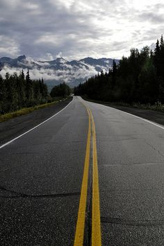 Mountain road - Eagle River, Alaska