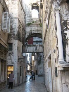 Streets of Split, Croatia.... I was here over 10 years. Can't wait to go back :)