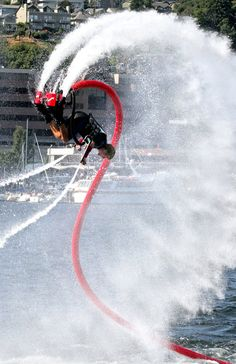 Amazing Flyboard action sure to inspire the world to give it a shot!