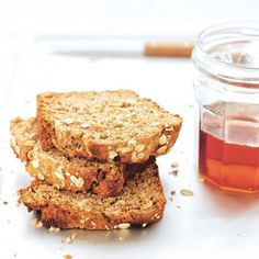 This Oatmeal Honey Bread is the quickest bread in the world to make. Lovely with cheese and soup!