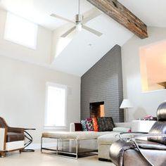 thinking about angle of fireplace surround
