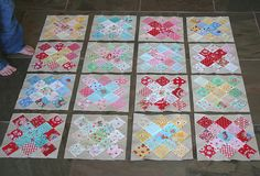 granny squares (photo only)