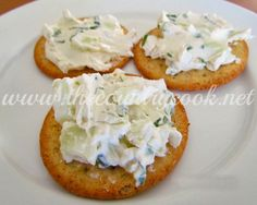 "The Country Cook: Cucumber Cream Cheese Spread - some people say this should be called ""cucumber crack"" because it's so addictive. So of course I have to try it!"