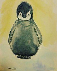 Pinguin, illustration, Kinderbuch-Illustration