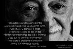 Síndrome, un precioso poema de Mario Benedetti, a propósito de la sexualidad en la tercera edad.  #Sexología #Sexualidad #TerceraEdad #Vejez #PersonasMayores, #Frases #MarioBenedetti #Benedetti