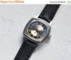 "SALE - Soviet watch ""Slava"" ,Russian watch ,Vintage Watch, Womens watch ,Mechanical watch , USSR Vintage"