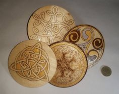 Related image Hand Burn, Wooden Easel, Wood Patterns, Wood Slices, Tree Wall, Pyrography, Beautiful Artwork, Tree Decorations, Trinket Boxes