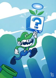 Super Luigi World by Sam Filstrup