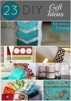 23 DIY Gift Ideas... SO FUN!