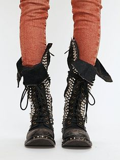 JC Studded Seattle Love Boot... so punk I just died inside a little :)