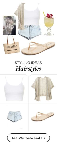 """Simple "" by nikola-sperlikova on Polyvore featuring WithChic, Style & Co., Topshop, Victoria's Secret, Tkees, women's clothing, women, female, woman and misses"