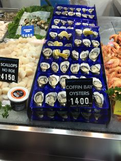 Amazing oysters at Victoria Market in Melbourne