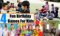 Fun Birthday Games For Kids