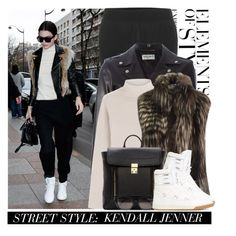 """Street Style: Kendall Jenner"" by hollowpoint-smile ❤ liked on Polyvore featuring Vera Wang, STELLA McCARTNEY, Yves Saint Laurent, Etro, 3.1 Phillip Lim and Givenchy"