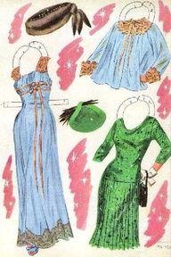 1957 Kim Novak paper doll clothes / eBay