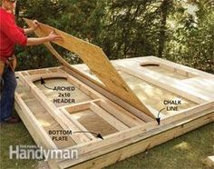 How to Build a Cheap Storage Shed | The Family Handyman