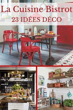 [CUISINE BISTROT] : 23 Idées Déco Pour Un Style Bistrot