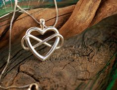 Infinite Love  Heart and Lemniscate  by OdysseyCraftworks on Etsy, $60.00