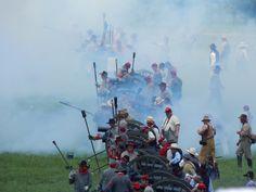 150th Reenactment, Pickett's Charge, Gettysburg, PA, June 30, 2013