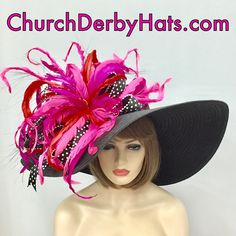 Kentucky Derby Outfit, Kentucky Derby Fashion, Derby Attire, Derby Outfits, Victorian Hats, Victorian Fashion, Fashion Vintage, Funky Hats, Crazy Hats