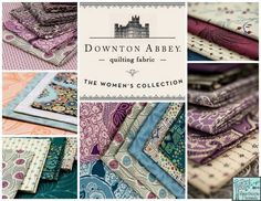 """Downton Abbey quilt designs. """"Union Jack"""" is my favorite. Go to:  http://www.andoverfabrics.com/NewsStory.php?NewsSlug=twelve-quilts-from-downton-abbey"""