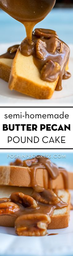 This semi-homemade butter pecan pound cake recipe is the perfect recipe for the holidays because it is so tasty and simple to make.