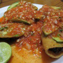 Receta de Tacos de Camarón y Rajas Poblanas