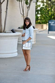 Chambray and Lace  v