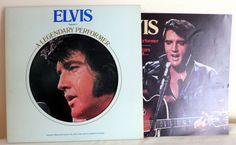 ELVIS PRESLEY V. 2 Legendary Perfomer LP & Booklet Die Cut Cover RCA CPL1-1349  #RocknRollRockabillyPsychobilly