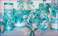 Tyrkysové svadobné kytice - tipy na výbere a príprave vlastných rúk s fotografiami