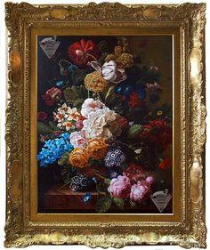 Картину с цветами купить у художника Виктора Дерюгина. Картина с цветами онлайн
