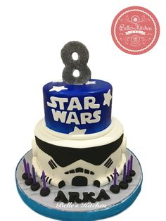 Starwars Stromtrooper Cake By Belle's Kitchen, To Order Contact Our WA: 081294055786, Line: Bellekitchen, Also Be Sure To Follow Our Instagram @belle_kitchen