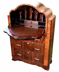 Art Deco Furniture - For Sale at - Page 2 Antique Furniture For Sale, Art Deco Furniture, Furniture Styles, Cool Furniture, Vintage Furniture, Furniture Dolly, Furniture Movers, Modern Furniture, Art Deco Stil