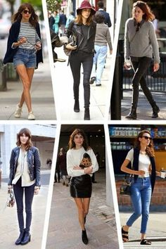 she is so inspirational alexa chung Alexa Chung Street Style, Casual Outfits, Fashion Outfits, Womens Fashion, Vogue, Love Her Style, Mode Inspiration, Mode Style, Celebrity Style