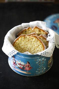 Mohn-Marzipan-Kuchenmit Zimtguss