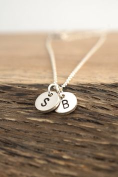 PERSONALIZED JEWELRY Sterling Silver Necklace Hand by Cheydrea