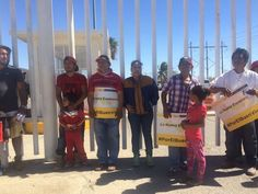 Protestan contra gasolinazo  en Refinería de Salina Cruz