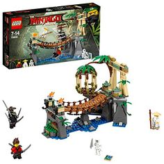 Lego Ninjago Le pont de la jungle 70608 J Lego Ninjago Movie, Lego Movie, Legos, Jungle Outfit, Kai, Lego Construction, Lego Toys, Cool Lego Creations, Buy Lego