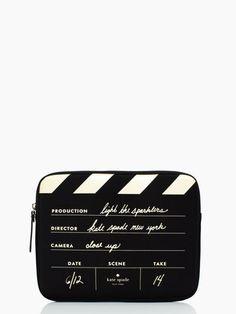 directors clapboard ipad sleeve