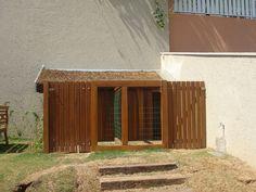 Cerca, Portão e Guarda-corpo de madeira - COBRIRE Construções em Madeira