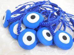 wholesale evil eye bracelet blue greek evil by christelboutique