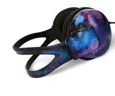 Space Galaxy Nebula Cosmic large headphones  - Electronics & Gadgets