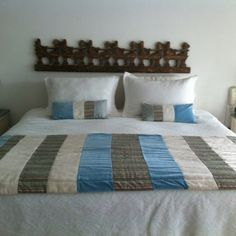 Mi piecera Bed Runner, Bed Pillows, Cushions, Cama Box, Quilt Bedding, Bed Covers, Bed Spreads, Pillow Cases, Diy And Crafts