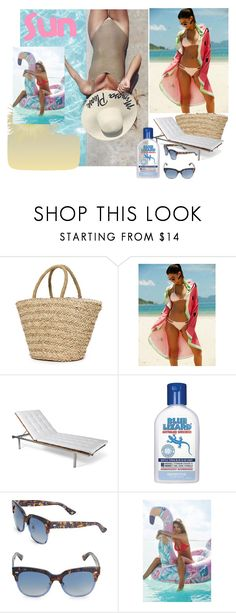 """sun"" by amela-367 ❤ liked on Polyvore featuring Sundry, Skargaarden, Yves Saint Laurent and Urban Outfitters"