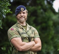 Lasse Lokken Matberg. Lieutenant of the Royal Norwegian Navy.