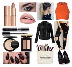 """""""Me & My Girls"""" by bell-a-s ❤ liked on Polyvore featuring Giuseppe Zanotti, MAC Cosmetics, Charlotte Tilbury, Sydney-Davies, Miss Selfridge, Christian Dior, selenagomez and meandmygirls"""