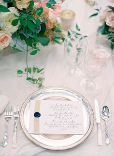 Menu by Slideshow Press and Calligraphy by Tara Jones, Easton Events at Fenwick Hall in Charleston, Photography by @jose villa