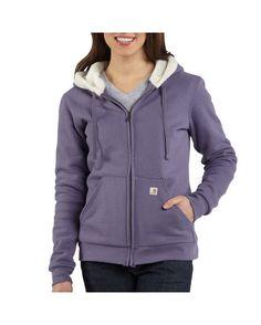 Women's Sherpa Hooded Sweatshirt