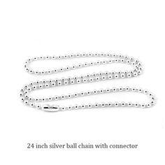 Ian Somerhalder Necklace Scrabble Tile Pendant with ball chain Damon Salvatore Necklace Fandom Jewelry