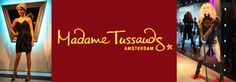 Madame Tussauds is a famous museum that's not only in Amsterdam but also in other major cities like London, Las Vegas, New York and Honk Kong. The museum contains a large number of wax figures of famous people.